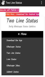 Two Line Status Lite- screenshot thumbnail