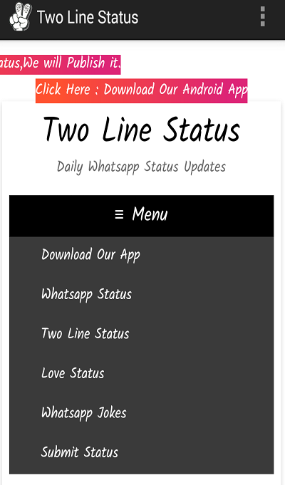 Two Line Status Lite- screenshot