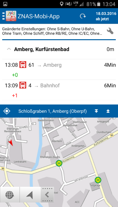 ZNAS-Mobi-App – Screenshot