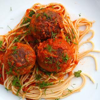 Sicilian Tuna Meatballs