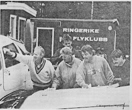 Photo: Dugnad før flyshow på ENEG 1988