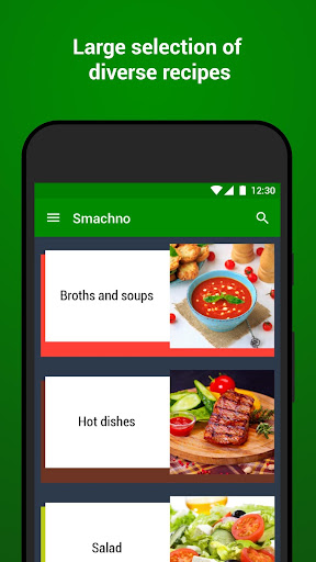 Recipes with photo from Smachno 1.63 screenshots 1