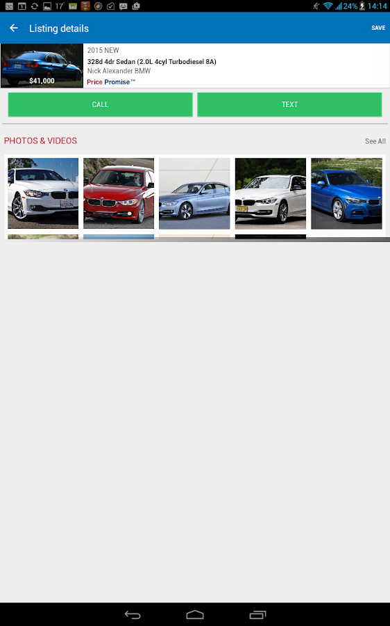 Edmunds Car Reviews & Prices - screenshot