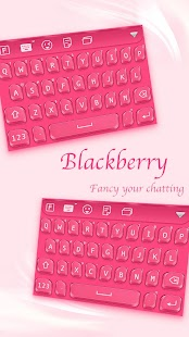 Blackberry for FancyKey Keyboard - náhled