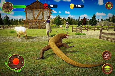 Angry Komodo Dragon: Epic RPG Survival Game 2