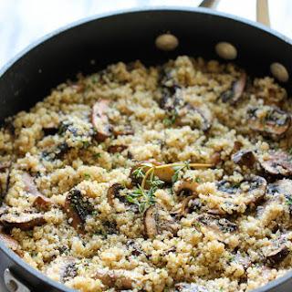 Garlic Mushroom Quinoa.
