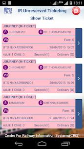UTS on mobile app – Indian Railways 7