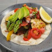 Taco De Fajitas Vegetarianas (V & VG)