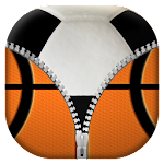 Sport Zipper Lock Screen