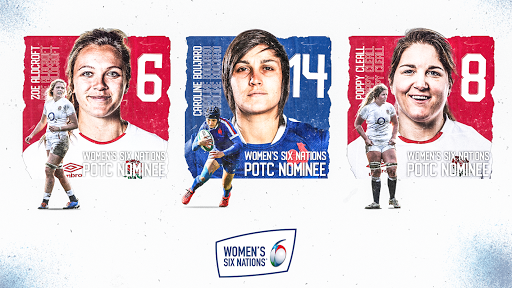 Vote for the 2021 Women's Six Nations Player of the Championship