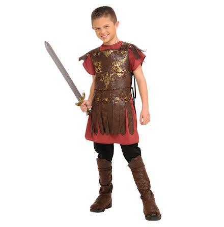 Barndräkt, gladiator 134/140 cl