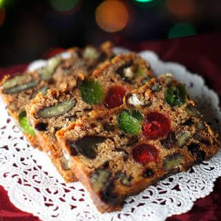 Grandma Ruth's Apple Fruit Cake.