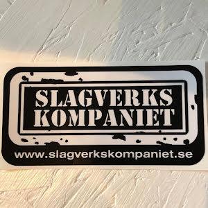 SVK-Dekal Large - Svart med vit text