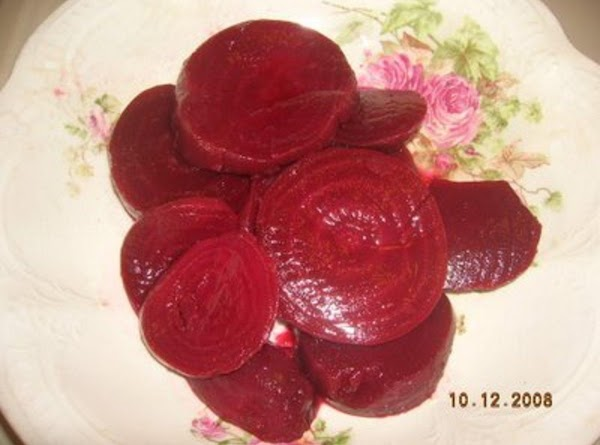 Alma's  Pickled Beets Recipe