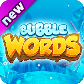 Bubble Word Games! Search & Connect Word & Letters