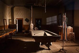 Photo: Pool Table in the Wheaton & Hollis Hotel