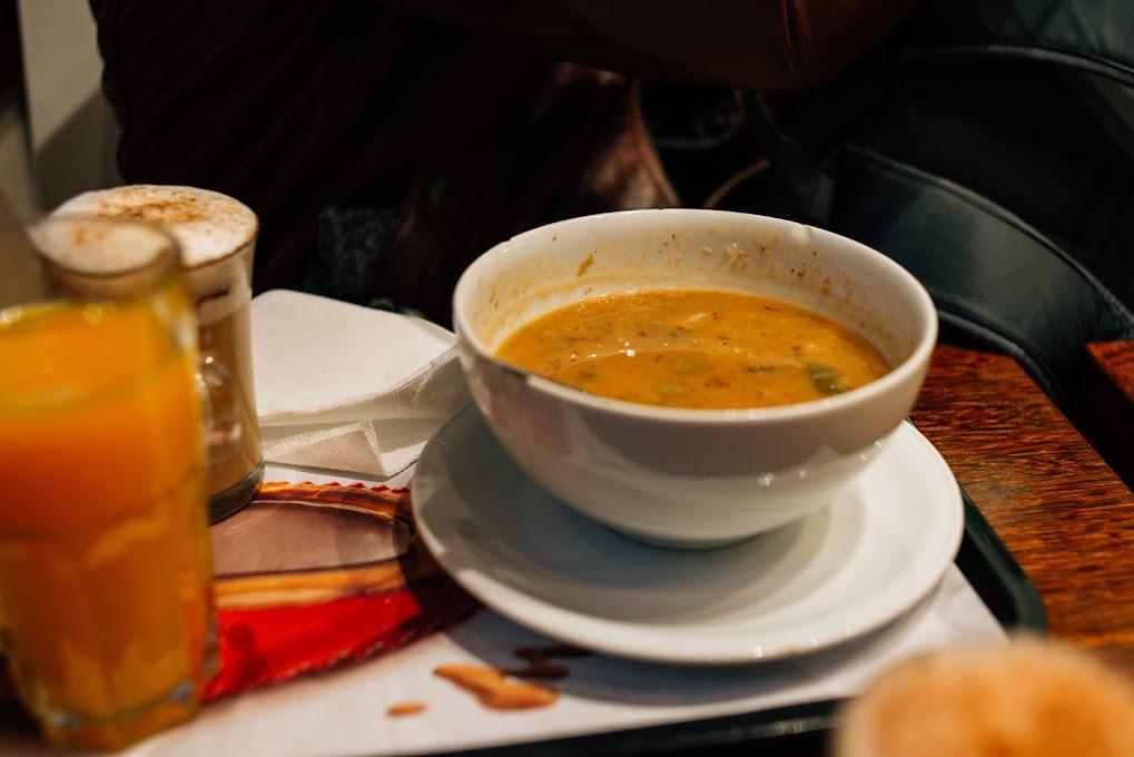 Lisszabon, sopa, leves, bableves, kajálda, Portugália, menü