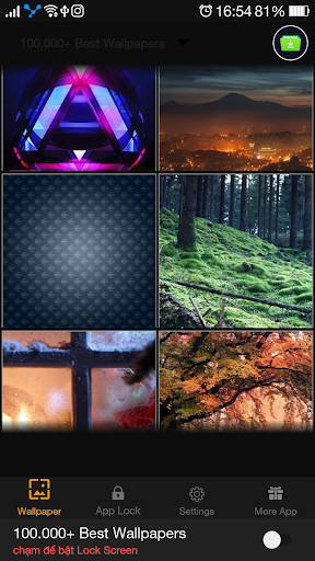 100,000+ Best Wallpapers QHD Lock Screen 1.0.1 screenshots 4