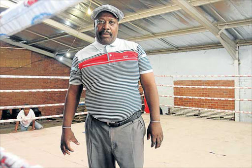 GOOD HEART: Vuyolomzi Mtekwana has produced professional boxers and world champions at his NU8 gymnasium, where children are coached for free every day after school Picture: SIBONGILE NGALWA