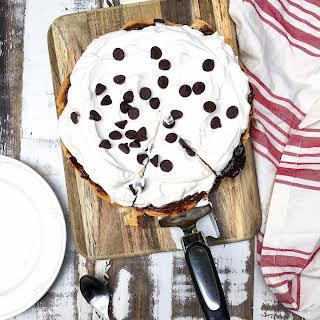 Easy Chocolate Cherry Pie.