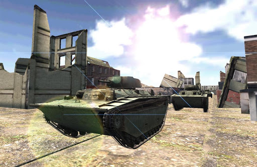 坦克英雄的戰