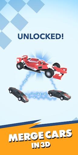 Télécharger Merge Cars 3D APK MOD (Astuce) screenshots 1