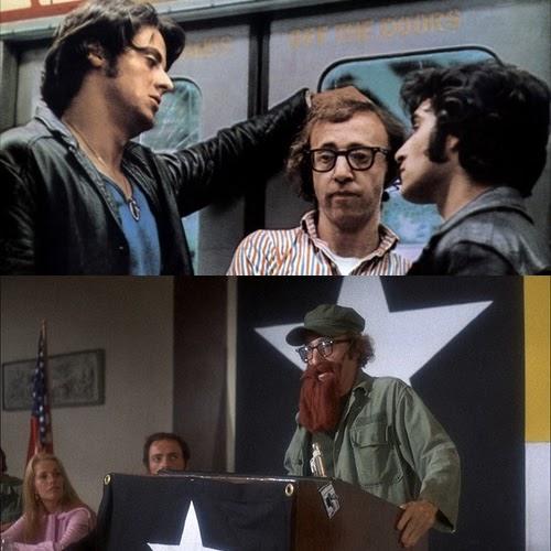 Sylvester Stallone y Woody Allen