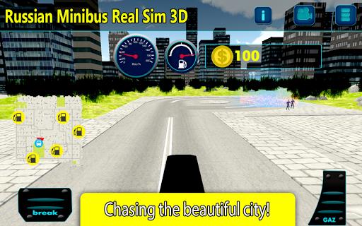 Russian Minibus: Real Sim 3D
