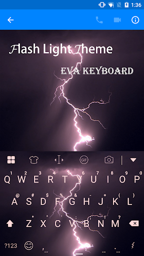 Flash Light Eva Keyboard -Gif