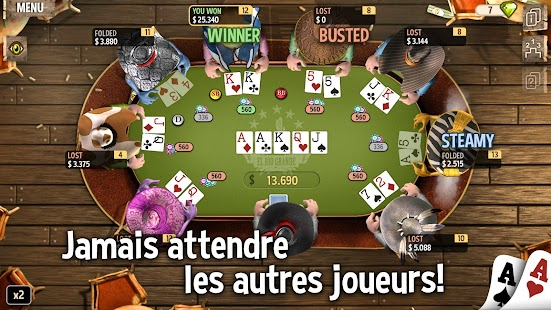 Governor of Poker 2 - OFFLINE POKER GAME – Vignette de la capture d'écran