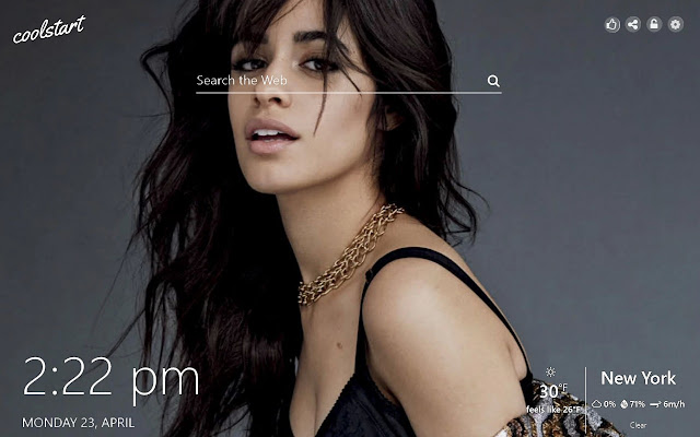 Camila Cabello HD Wallpapers New Tab Theme