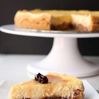 Black and White Chocolate Cheesecake.