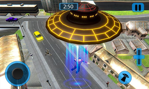 Code Triche Volant UFO Simulateur Spaceship Attaque Terre APK MOD screenshots 3