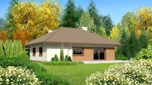 projekt Dom przy Bajecznej 2