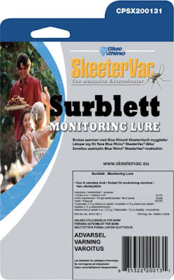 Myggfälletabletter Skeetervac