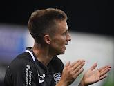 Nils Schouterden (Eupen) confie que le match à Charleroi était fort fermé