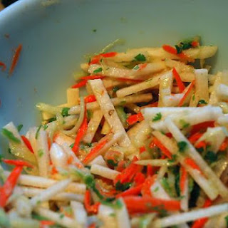 Jicama Slaw with Honey-Lime Vinaigrette