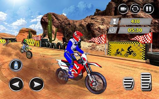 Télécharger Gratuit dirt bike offroad trial jeux de course extrêmes mod apk screenshots 3