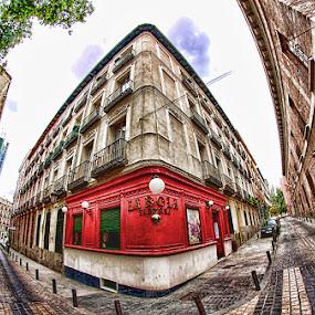 LA BOLA... by Luis Orchevecs Ferenczi - City,  Street & Park  Historic Districts