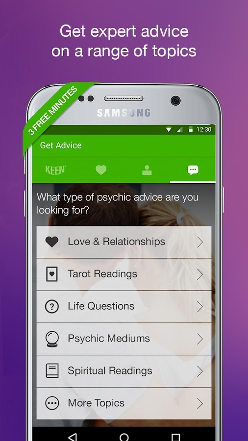 Keen Psychic Readings & Advice- screenshot
