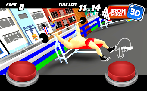 Iron Muscle 3D Apk – 3D bodybuilding fitness game – Iron Muscle 3