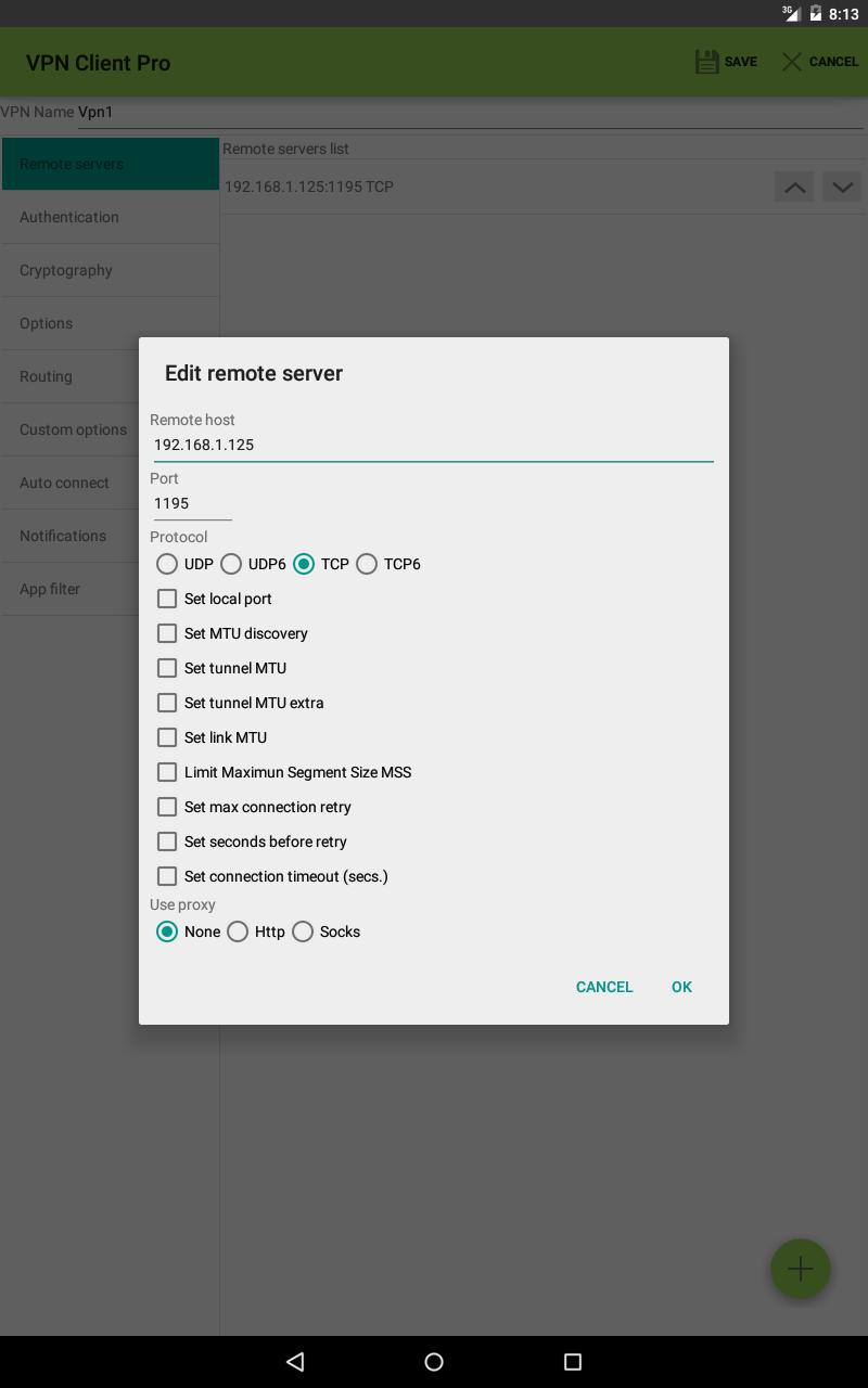 VPN Client Pro Screenshot 10