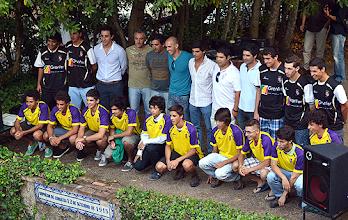 Photo: A equipa de juniores