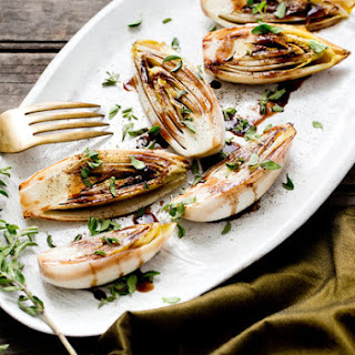 Sautéed Endive With Balsamic Butter
