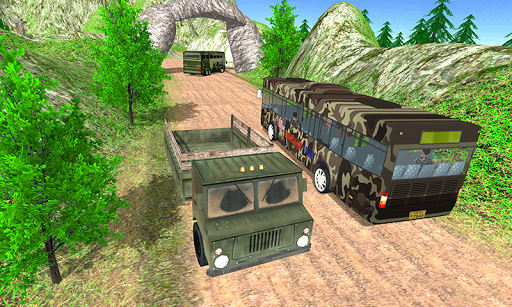 Army Bus Game US Soldier Duty