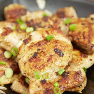 Garlic Sesame Chicken Thighs