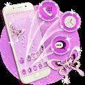 Butterfly Diamond Theme Launcher icon