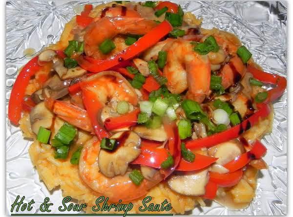 Hot & Sour Shrimp Saute' Recipe
