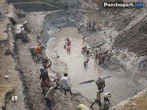 Photo: Rock Lifing industry of Panchagarh