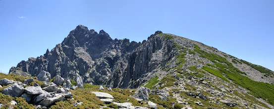 Photo: masív Monte d´Oro (2 389 m)